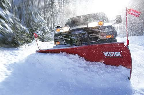 Snow Plowing by Creative Touch Landscaping Services