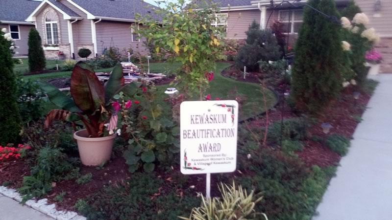 landscape porfolio - Kewaskum Beautification