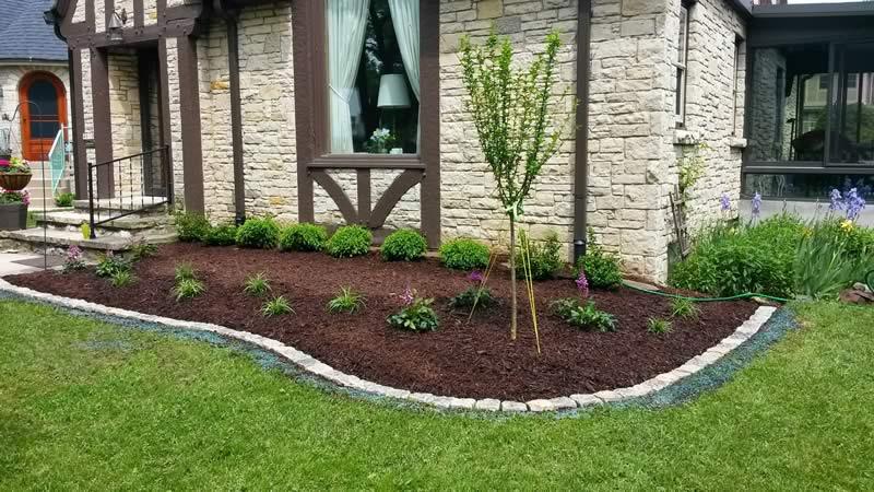 landscape porfolio - garden with border