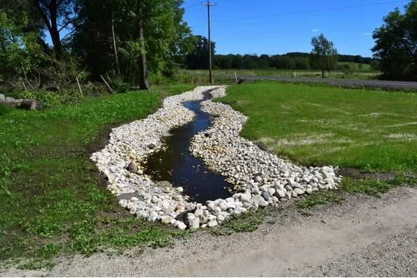 landscape porfolio - natural water retention