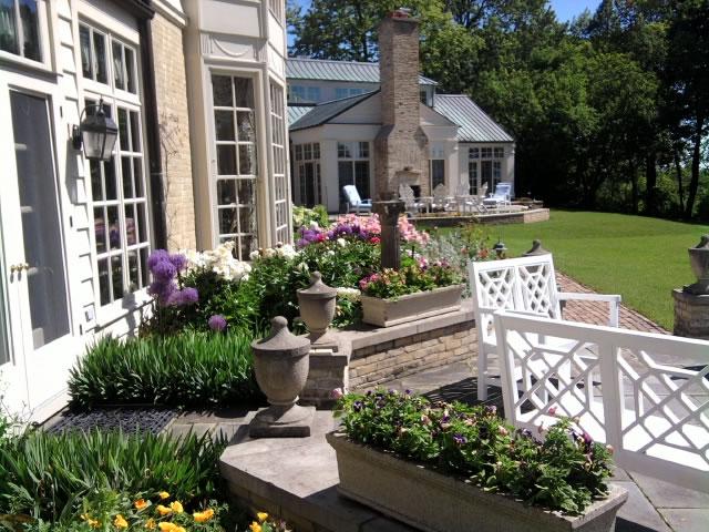 landscaping portfolio backyard - Creative Touch Landscape Services