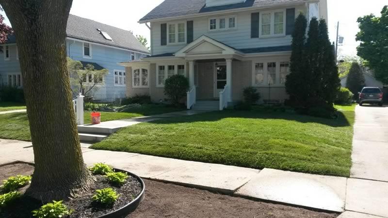 landscaping portfolio new garden - Creative Touch Landscape Services
