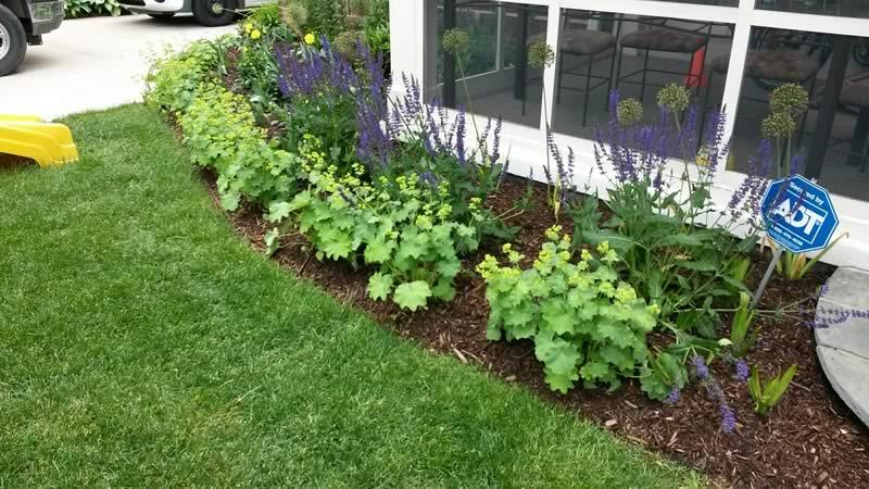 landscaping portfolio screen porch garden - Creative Touch Landscape Services